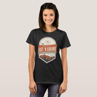 Camiseta As senhoras jejuam t-shirt básico curioso do n