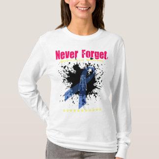 """Camiseta As senhoras """"nunca Esquecem-DWH"""" o hoodie cabido"""