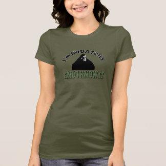 Camiseta As senhoras Squatchy e mim sabem-no!