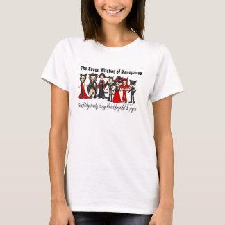 Camiseta As sete bruxas da menopausa