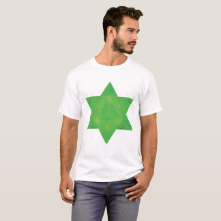 Camiseta As tabuletas esmeraldas inspiraram o tetraedro