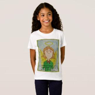 Camiseta Às vezes os anjos são apenas pessoas comuns