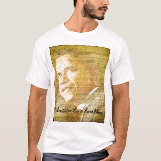 Camiseta As vidas da constituição em Barack Obama