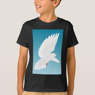 Camiseta Asa do animal da natureza da pena de pássaros do