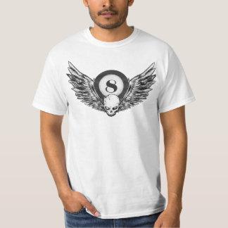 Camiseta asas do crânio 8_ball