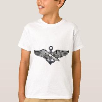 Camiseta asas piloto marinhas