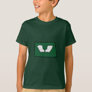 Camiseta Asas resistentes de Norht Dakota