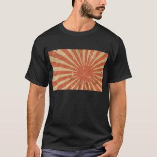 Camiseta Ascensão impressionante Sun da bandeira japonesa