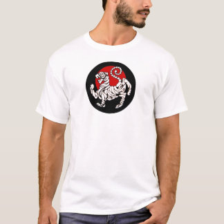 Camiseta Ascensão Sun do tigre de Shotokan