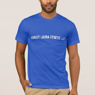 Camiseta Ashley Laura Fitenss, t-shirt dos azuis marinhos