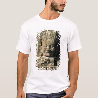 Camiseta Ásia, Cambodia, Siem Reap. Angkor Thom, cabeças de
