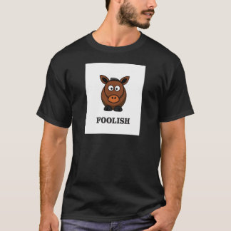 Camiseta asno insensato