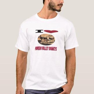 Camiseta Asnos de Moreno Valley do amor