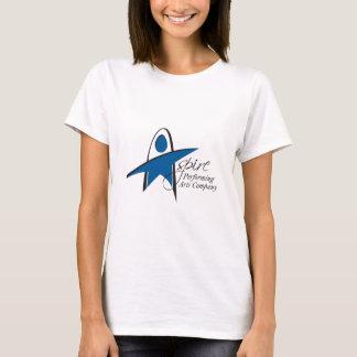 Camiseta Aspira o T clássico das mulheres do PAC - branco