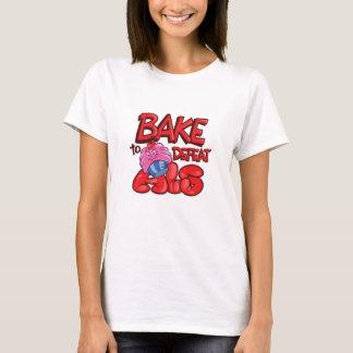 Camiseta Assar para derrotar o específico do cupcake do ALS