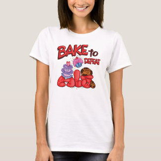 Camiseta Assar para derrotar o logotipo do oficial do ALS