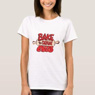 Camiseta Assar para derrotar o pino do rolo do ALS