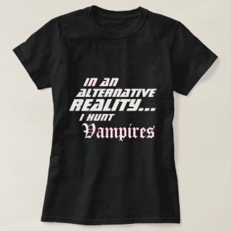 Camiseta Assassino alternativo MMORPG do vampiro da