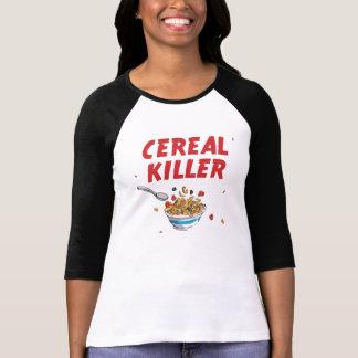 Camiseta Assassino do cereal de pequeno almoço