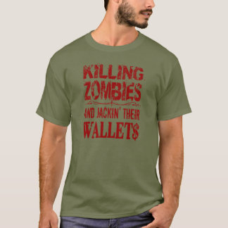 Camiseta Assassino do zombi