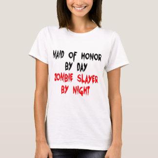 Camiseta Assassino do zombi da madrinha de casamento