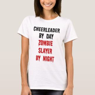Camiseta Assassino do zombi do cheerleader