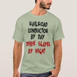 Camiseta Assassino do zombi do condutor da estrada de ferro
