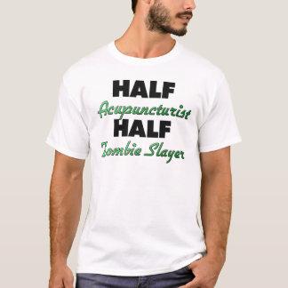 Camiseta Assassino do zombi do meio Acupuncturist meio
