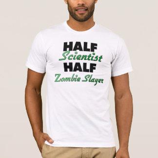 Camiseta Assassino do zombi do meio cientista meio