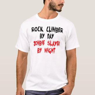 Camiseta Assassino do zombi do montanhista de rocha
