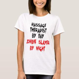Camiseta Assassino do zombi do terapeuta da massagem