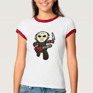 Camiseta Assassino em série bonito dos desenhos animados