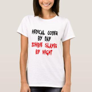 Camiseta Assassino médico do zombi do codificador