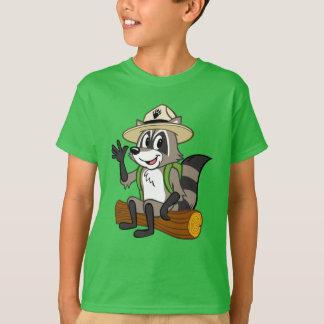 Camiseta Assento do rick da guarda florestal do rick | da