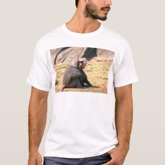 Camiseta Assento masculino do Babuíno-adulto de Hamadryas