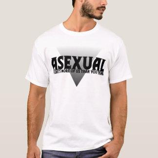 Camiseta Assexuado: Há mais de nós do que você pensa