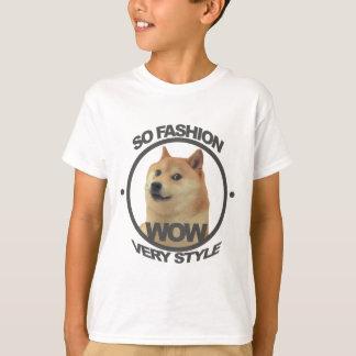 Camiseta Assim forma, assim Doge
