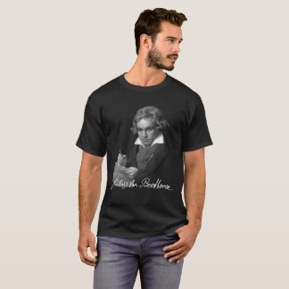 Camiseta Assinatura de Ludwig van Beethoven