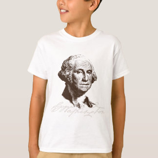 Camiseta Assinatura George Washington