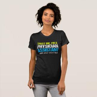Camiseta Assistente engraçado do médico