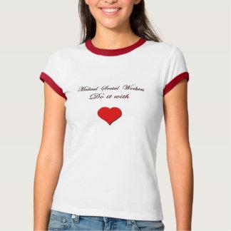 Camiseta Assistente social médico