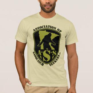 Camiseta Associação de investigadores de Sasquatch