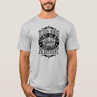 Camiseta Associação mal-humorada do ancião