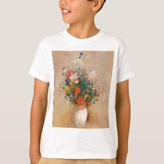 Camiseta Assortion das flores no vaso