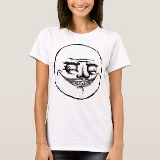 Camiseta Assustador mim Gusta - t-shirt dos espaguetes das