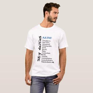 Camiseta ASTECAS das deidades do céu