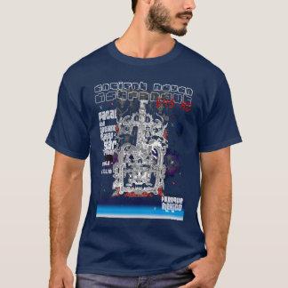 Camiseta Astronauta maia antigo Pacal