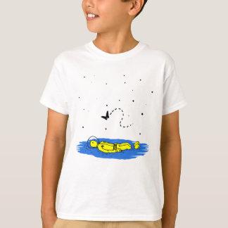 Camiseta Astronauta - permissão aterrar