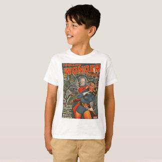 Camiseta Astronautas atacados pelo monstro do tentáculo