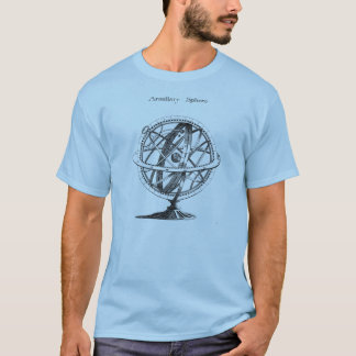 Camiseta Astronomia do vintage dos presentes do geek